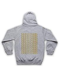 89ca14bf5a10 Inspired Apparel Inspire par Lil Pump Gucci Gang Gold Print Officieux Sweat  a Capuche avec Un