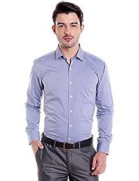 Donear NXG Mens Formal Shirt_SHIRT-C111-NAVYBLUE