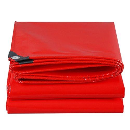 Galleria fotografica YUJIE Rosso 100% Impermeabile E Anti UV Copertura Per Pavimenti Pesanti Per Campeggio, Pesca, Giardinaggio (dimensioni : 4MX6M)