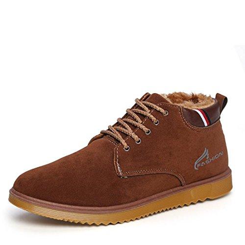 Men's High Quality Suede Shoes Sky Blue