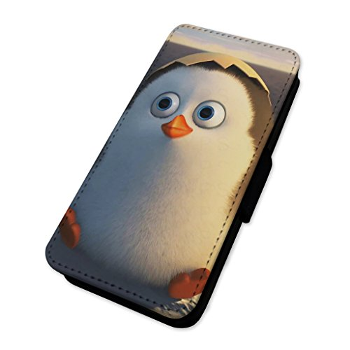 Adorabile cova Penguin Chick – Custodia ad aletta in pelle di carta Apple iPhone 6/6S