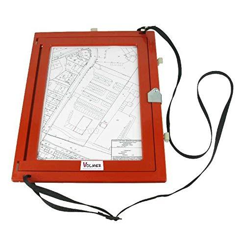 feldbuchrahmen a4 Feldbuchrahmen DIN A4 - Kunststoff - rot