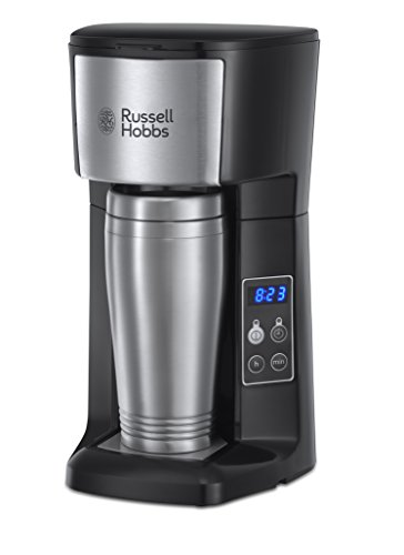 Russell Hobbs Brew and Go Coffee Machine and Mug 22630, 400 ml – Stainless Steel and Silver 41rQK0u5wUL