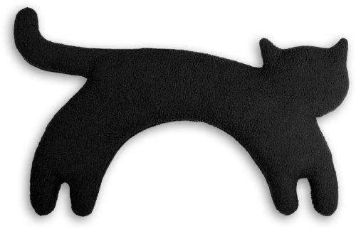 Leschi Wärmekissen | 36529 | Die Katze Minina | stehend | groß (Wärmekissen für den Nacken) Farbe: Mitternacht / Mitternacht