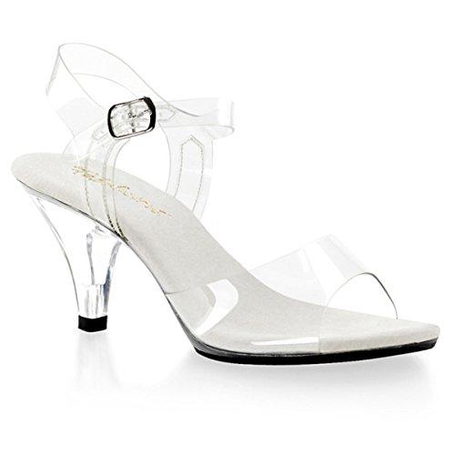 Sandalette, Damen, Transparent (transparent) Transparent (transparent)