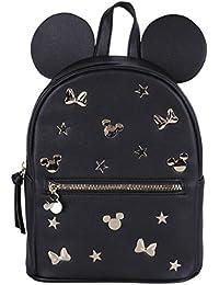 Minnie Mouse -:- Disney -:- Mochila negro y dorada