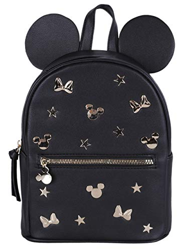 Sac à dos noir et or Minnie DISNEY