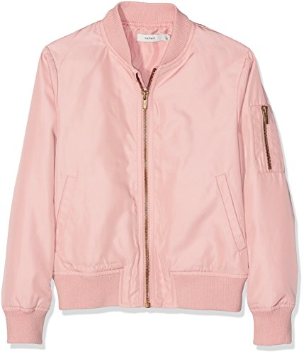 NAME IT Mädchen Jacke Nitmaryam Bomber Jacket NMT, Rosa (Rose Tan), 134
