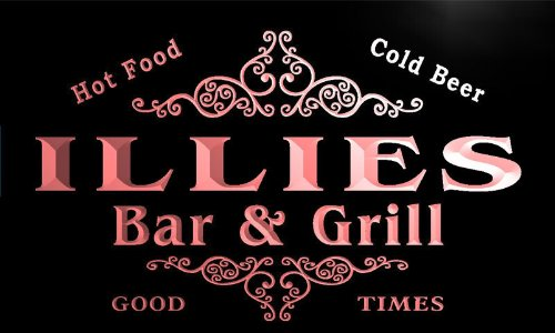 u21516-r-illies-family-name-bar-grill-home-beer-food-neon-sign-enseigne-lumineuse