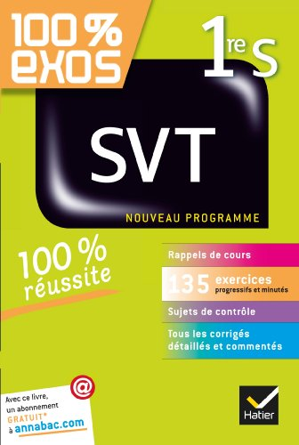 SVT 1re S: Exercices rsolus - Premire S