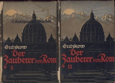 Der Zauberer von Rom. Roman. 2 Bände.