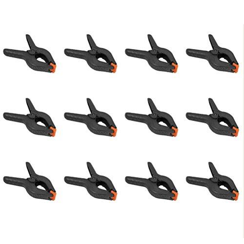 Preisvergleich Produktbild 10 Stück Klemmzwingen Leimzwingen Leimklemme Federzwingen Fotostudio Papier Leinwand Musselin Kulisse Klemmen Clamps