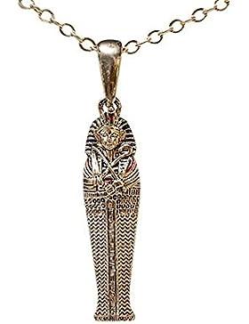 SilberDream Schmuck Anhänger Sarkophag Tutanchamun Ägypten mit Kette EK049