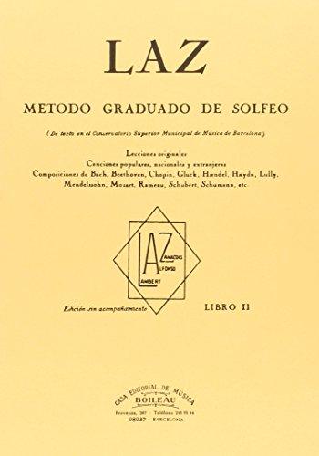 Laz - Libro II: Método graduado de Solfeo por Juan B. Lambert