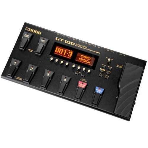 GT-100 - Pedalera multiefectos GT-100 -
