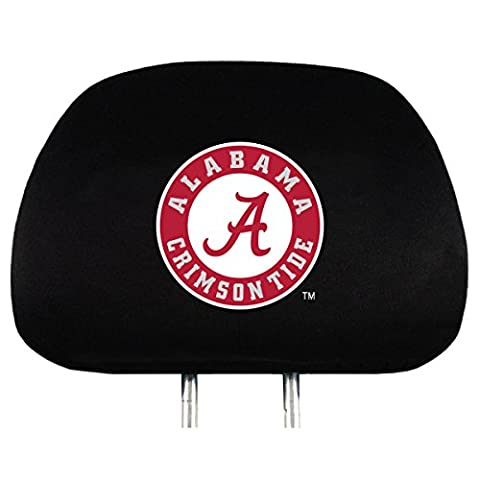 NCAA Alabama Crimson Tide Head Rest Covers, 2-Pack