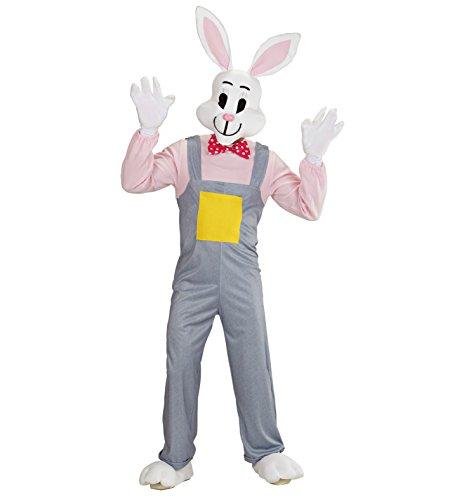 Panelize Hase Osterhase Hasenkostüm Rabbit Bunny Kostüm Hände Füße Maske Erwachsene (Medium) (Osterhasen Kostüm Für Erwachsene)