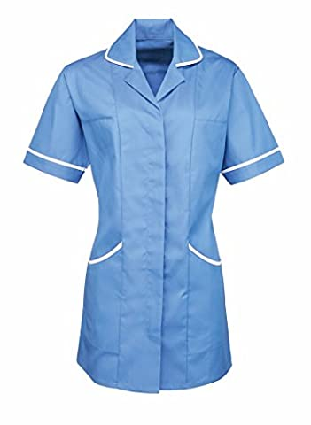 Premier Women's Vitality Healthcare Tunic Mid Blue 8
