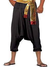 Forum Novelties AC77563 - Pantalón deportivo para hombre, talla M, color negro