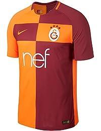 Nike M NK Vapor Mtch JSY SS HM Camiseta Galatasaray Gs, Hombre, Naranja / (Vivid Orange / Pepper Red / Vivid Orange), L