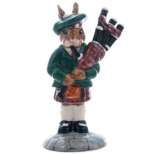 Royal Doulton Piper Bunnykins Figur DB191 hergestellt in England. Limited Edition