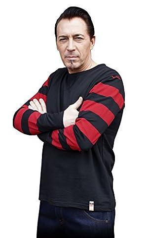 Rumble59 - Sweat-shirt - Homme noir noir/rouge - noir - X-large