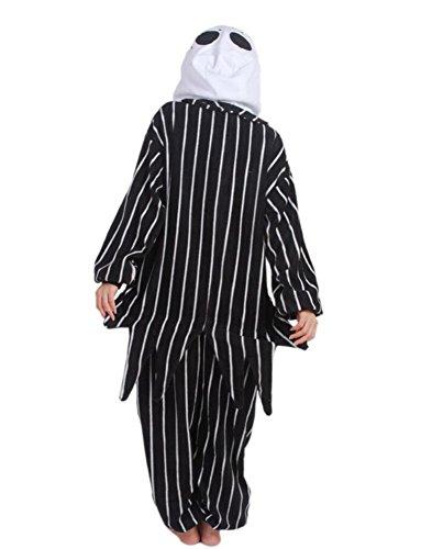 SAMGU Tutina Animale Pigiama Adulto Abbigliamento da casa Kigurumi Halloween Costume Nero