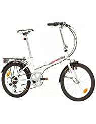 Klapprad Fahrrad Probike FOLDING 20 Zoll Shimano 6 GANG, STVO Beleuchtung, Komplett montiert