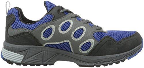 Jack Wolfskin Venture Fly Low W, Chaussures de Trail Femme Bleu (peacock Blue)