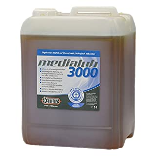 KETTLITZ-Medialub 3000 Wasserbasierendes Kettenöl 5 L bio. abbaubares Kettenhaftöl