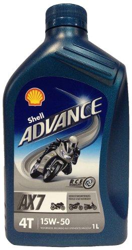 Shell 1504001 Motoröl Advance 4T AX7 15W-50, 1 - Shell öl Motorrad