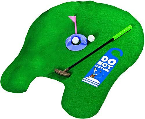 Longridge Potty Putter - Das WC Golf Set für die Toilette