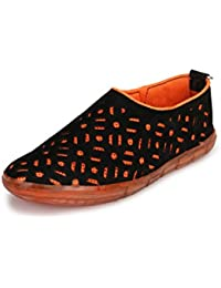 Braavosi Men Casual Orange Shoes