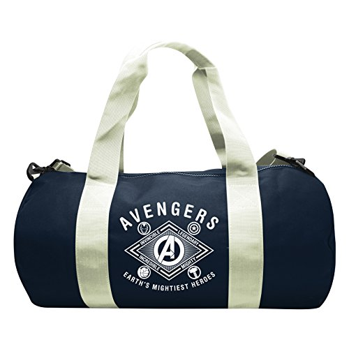 753790cc70 ABYstyle - MARVEL - Sac de sport Earth's mightiest heroes- Navy/White