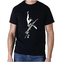 foolsgoldtshirts Herren T-Shirt Schwarz Schwarz