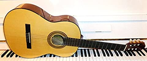 Francisco Santana LCD 034g Classic Guitare 4/4avec housse de