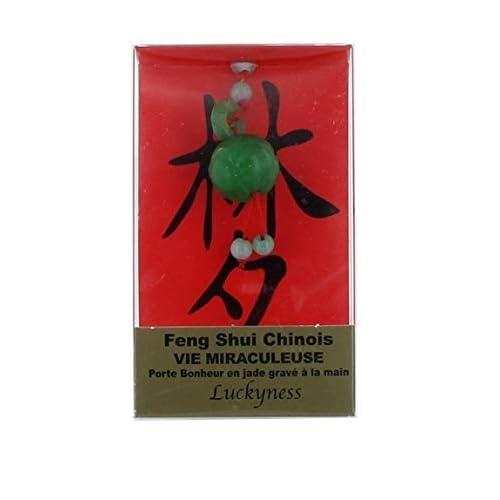 Porte-bonheur feng-shui jade vie miraculeuse