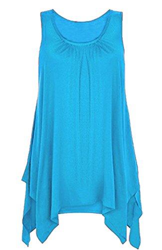 mafhh55 - Canotta -  donna Turquoise