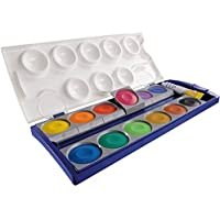 Pelikan Farbkasten 12er 735K12 12 Deckfarben + 1 Tube Deckweiß