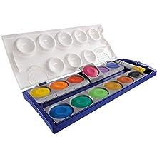 Pelikan 735K12-12 scatole di colori + 1 tubetto di bianco coprente