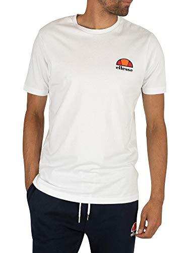 ellesse T-Shirt Herren Canaletto T-Shirt Optic White, Größe:M