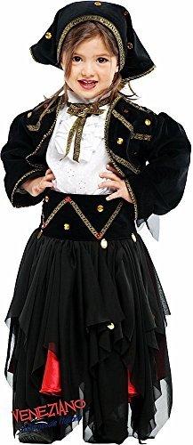 Italian made Deluxe Baby &ältere Mädchen Zigeuner Fortune Teller Piraten Halloween Karneval Kostüm Verkleidung Outfit 0-10 Jahre - 0 (Kostüme Für Zigeuner Mädchen Kinder)