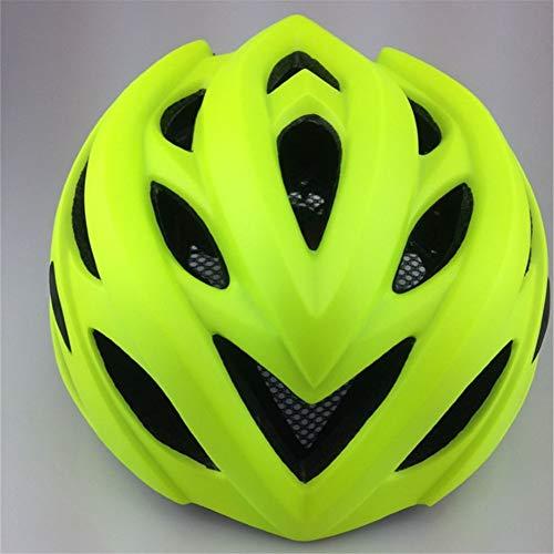 XFKLLL Einteiliger Fahrradhelm Mit Leichtem Helm Mountainbike Reiten Liefert Helm Mountainbike (Grün)