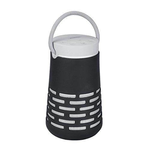 Premium Silikon Schutzhülle für Bose Soundlink Revolve Plus Bluetooth Lautsprecher Travel Carry Tasche Sleeve Schutz Box Tasche Sling Black