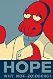 "Zoidberg: Futurama, Bender, Notebook, Diary, (130 Pages, 6"" x 9"", in lines, Journal), Composition Notebook, Cover Soft"