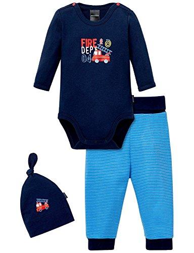 Schiesser AG Schiesser Unterwäsche-Set Baby Jungs, 3er Pack, Mehrfarbig (Sortiert 1 901), 56