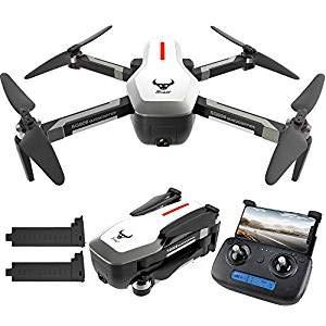 Sunnywill SG906 GPS 5G WiFi FPV con 4K Ultra Clear Camera Brushless Selfie Pieghevole Portata Flusso Ottico Hover RC Drone Quadcopter RTF Telecamera Regolabile da trasmettitore 1806 Motore