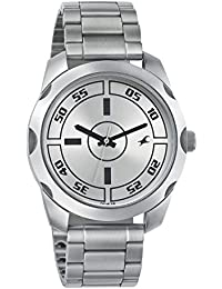 Fastrack Casual Analog Silver Dial Men's Watch - 3123SM02