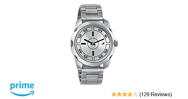 2330d3254 Buy Fastrack Casual Analog Silver Dial Men's Watch -NK3123SM02 Online at  Low Prices in India - Amazon.in