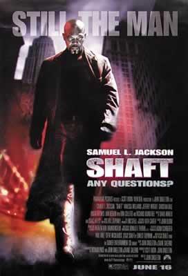 Shaft - Samuel L. Jackson - 68,5X101,5 Cm Affiche / Poster